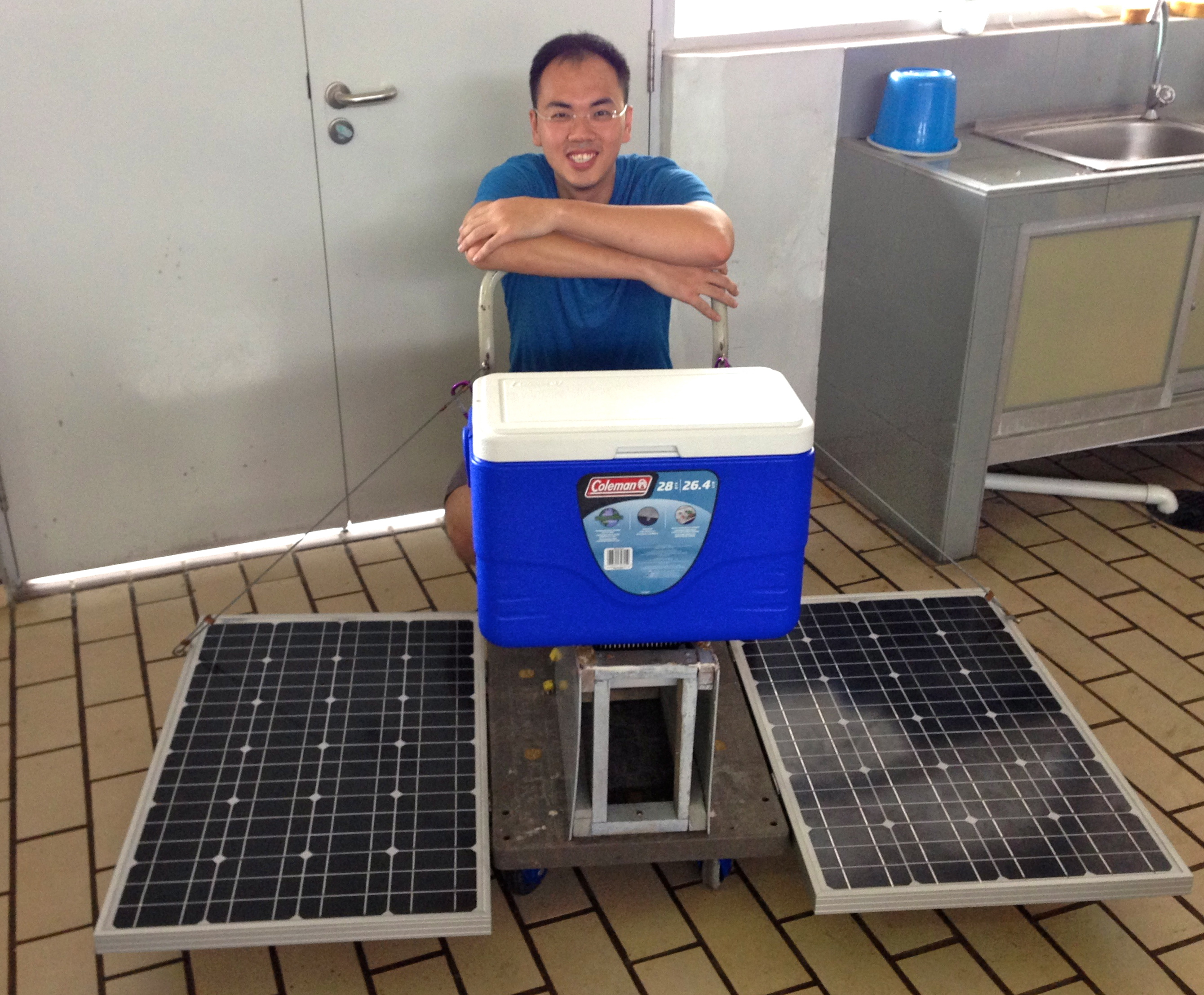 Solar Powered Vaccine Cooler